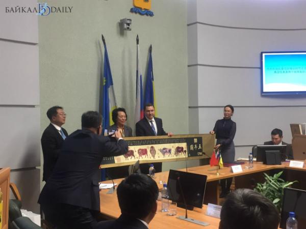 В Улан-Удэ встретили делегацию города-побратима Чанчуня