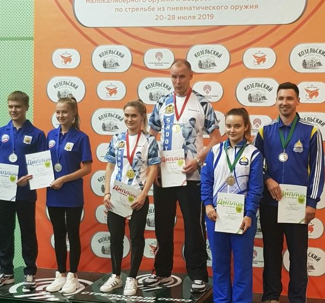 Спортсмены Бурятии взяли две медали всероссийского турнира по стрельбе