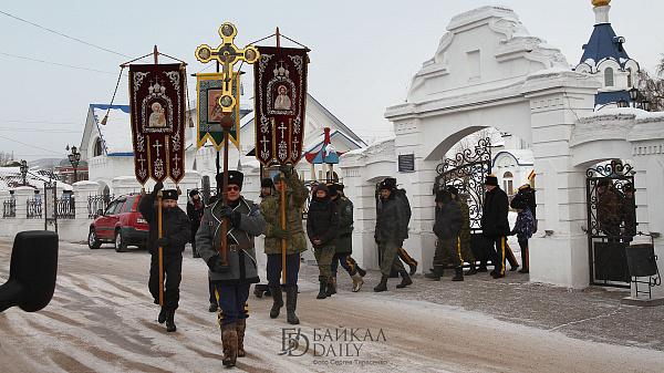 В Бурятской епархии появился отдел по работе с казаками