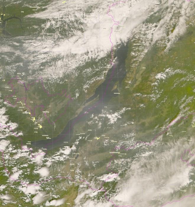 Бурятию затянуло дымом из соседних регионов