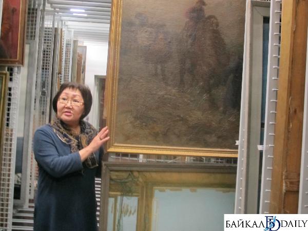 В Улан-Удэ музей Сампилова презентовал новую систему хранения