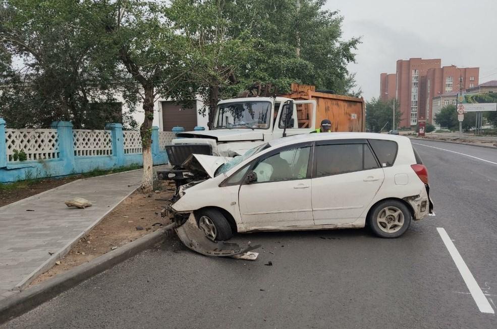 Улан-удэнец пострадал в столкновении с пьяным водителем