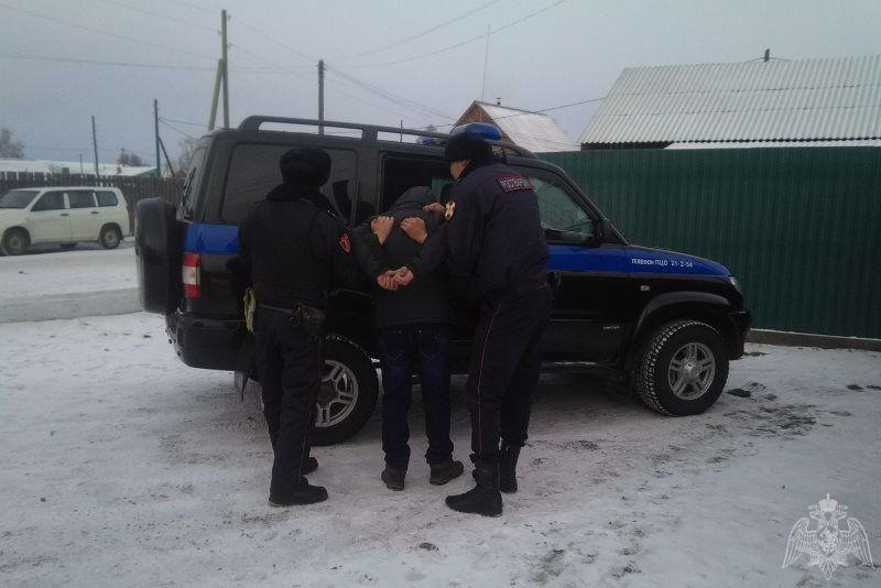 В Бурятии поймали находящегося в федеральном розыске преступника