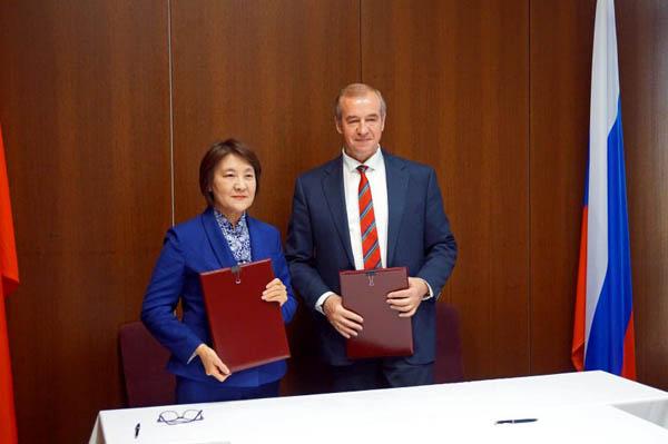 Иркутская область договорилась сотрудничать со Внутренней Монголией