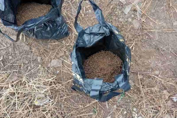 В Улан-Удэ подросток разгуливал с пакетами конопли