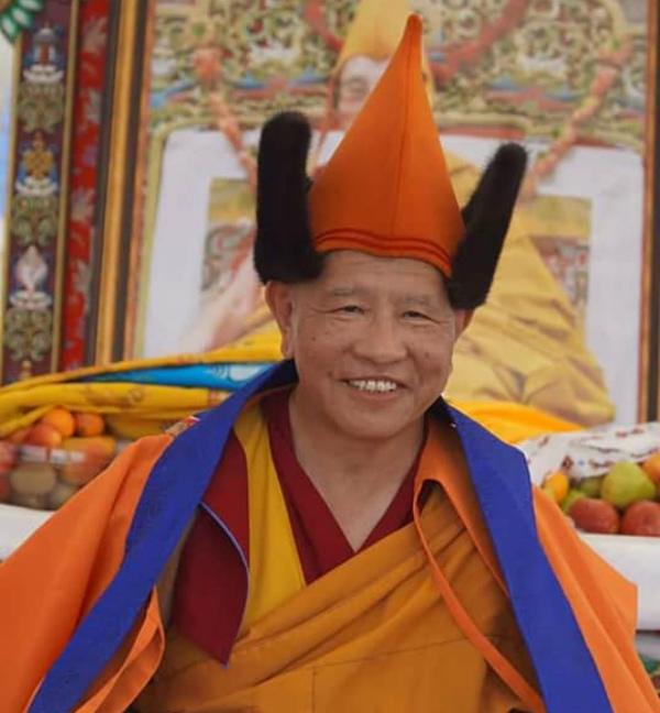Посланнику Далай-ламы XIV вручили медаль «За заслуги перед Республикой Бурятия»