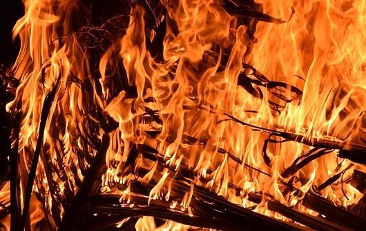 Житель Бурятии развёл костёл и спалил лес
