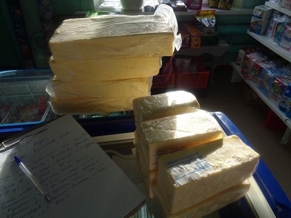 В магазине в Бурятии изъяли 30 кг масла и сыра