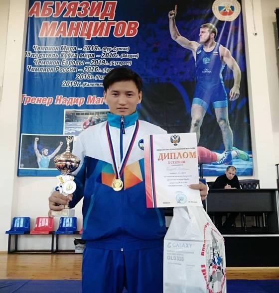 Борец из Бурятии выиграл первенство России по спорту глухих