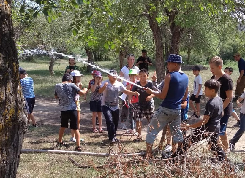 В Бурятии дети смогли почувствовать себя борцами с лесным огнём