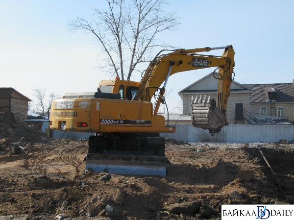 В центре Улан-Удэ строят новый детсад