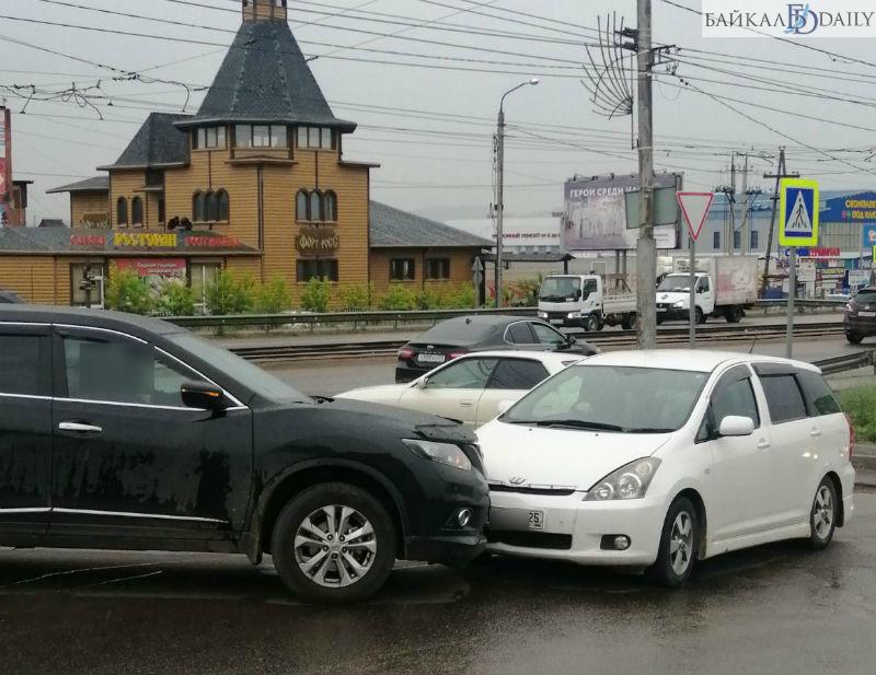 В Улан-Удэ участники ДТП не признавали вину