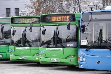 В Иркутск пришли новые автобусы, троллейбусы и трамваи