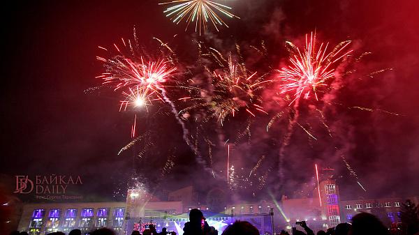 В Улан-Удэ фейерверк на День города обойдётся в 400 тысяч