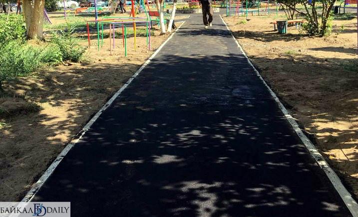 В Улан-Удэ приняли в эксплуатацию пять отремонтированных дворов