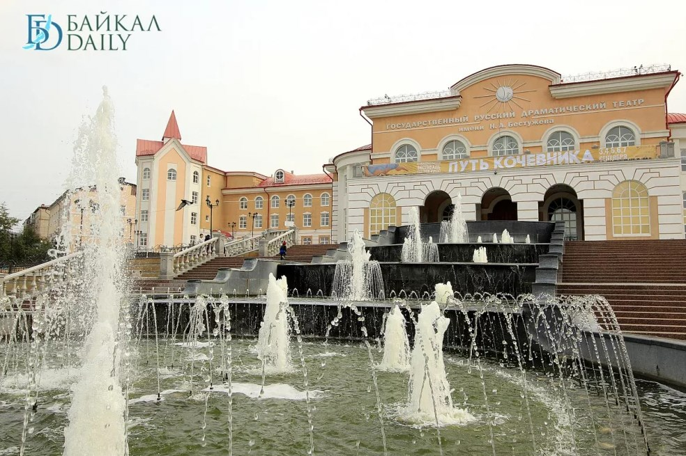 В Улан-Удэ фонтан на Саянах отремонтируют за 380 тысяч