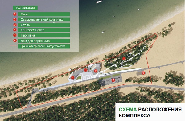На берегу Байкала в Бурятии появится отель с термальным комплексом