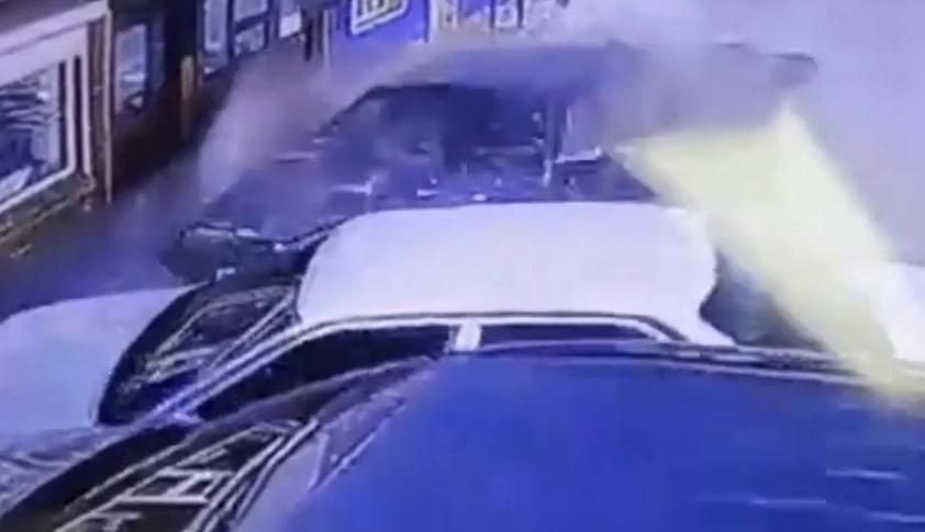 В Иркутской области сбитая пешеход отлетела на несколько метров