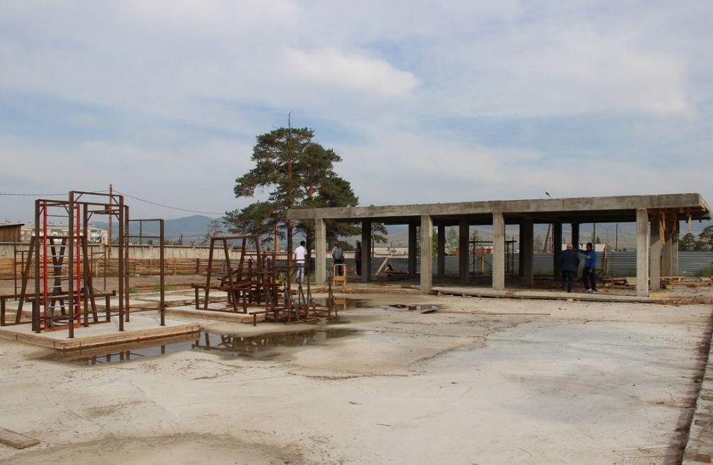 В Бурятии строят уникальный гиревой центр
