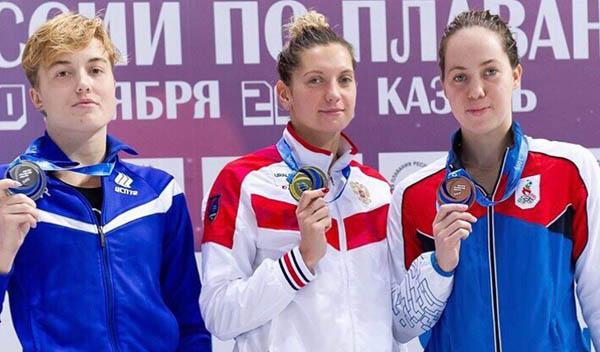Иркутянка стала призёром чемпионата России по плаванию