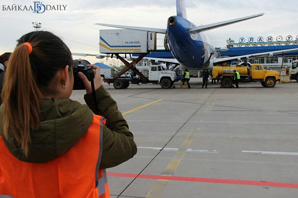 Аэропорт Улан-Удэ приглашает пофотографировать самолёты