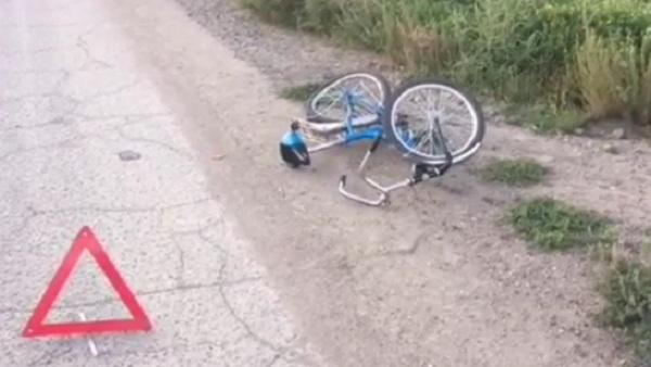 В Улан-Удэ под колёса «Ниссана» попал 11-летний велосипедист