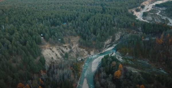 В Бурятии сняли на видео красоты Баргузинской долины