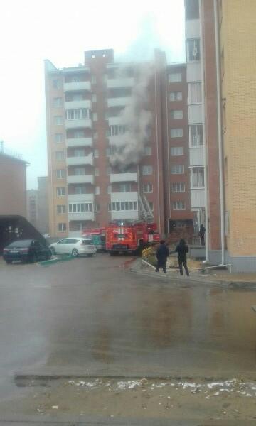 В Улан-Удэ на пожаре пострадал мужчина