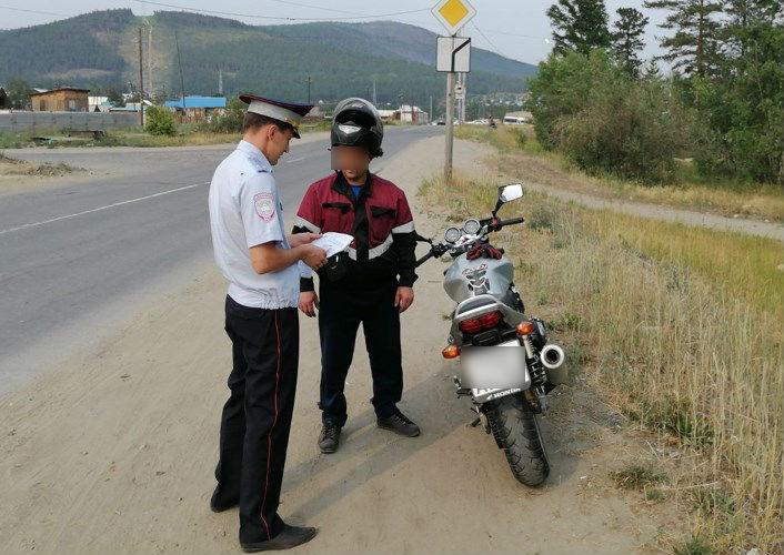 На севере Бурятии прошла операция «Мотоцикл»
