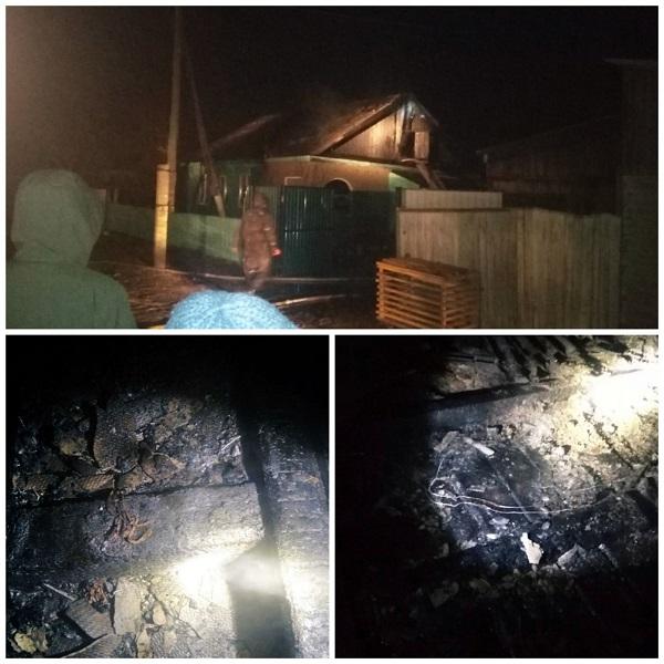 В Бурятии короткое замыкание привело к пожару