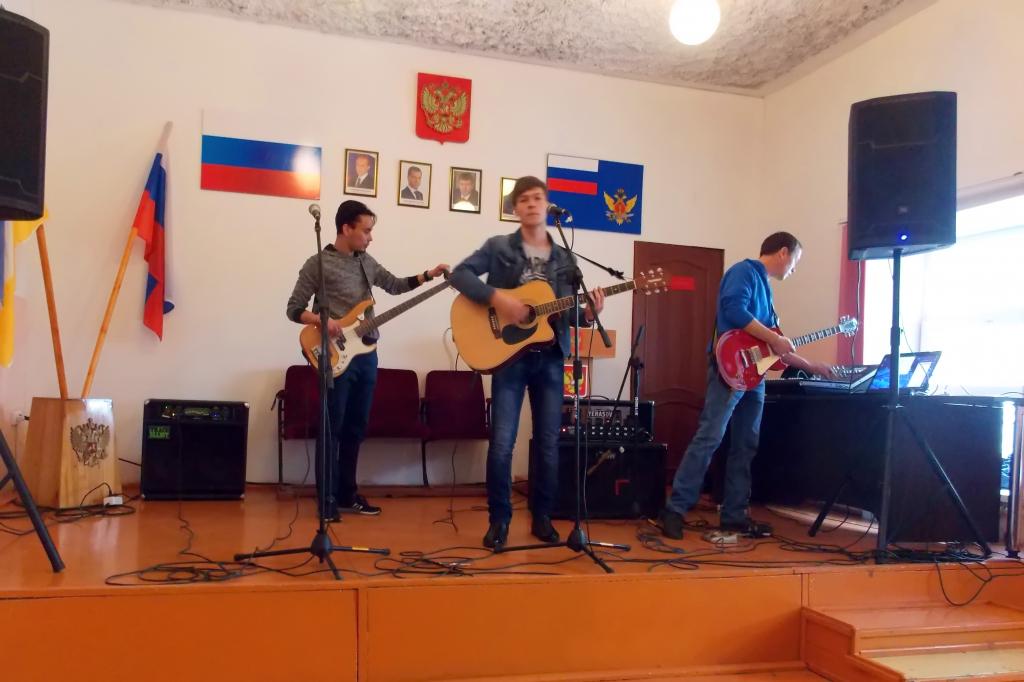 В Улан-Удэ осуждённым устроили рок-концерт