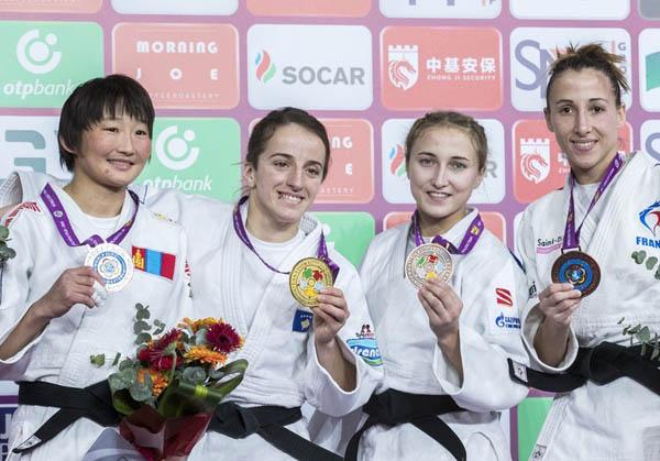 Братчанка стала призёром турнира по дзюдо в Китае