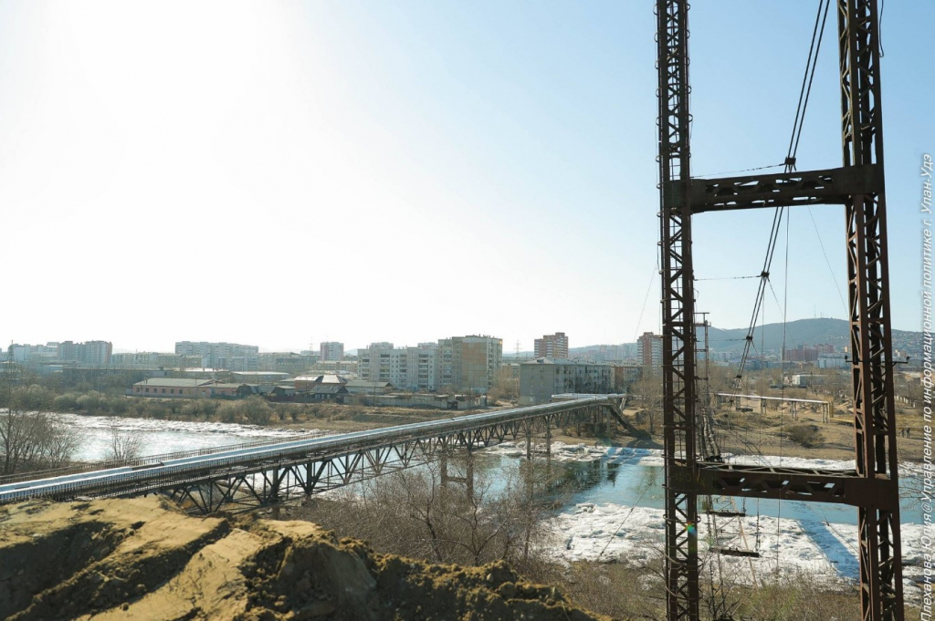 Федеральный телеканал расскажет о будущем мосте в Улан-Удэ