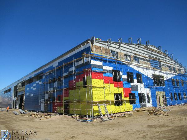 В Улан-Удэ строительство лукодрома идёт с опережением графика. ФОТО
