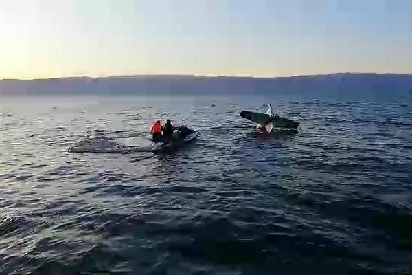 На Байкале утонул гидросамолёт