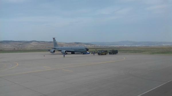 В Улан-Удэ приземлился американский самолёт