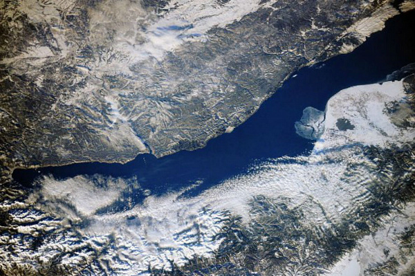 Космонавт признался, что Байкал «не даёт» снимать себя