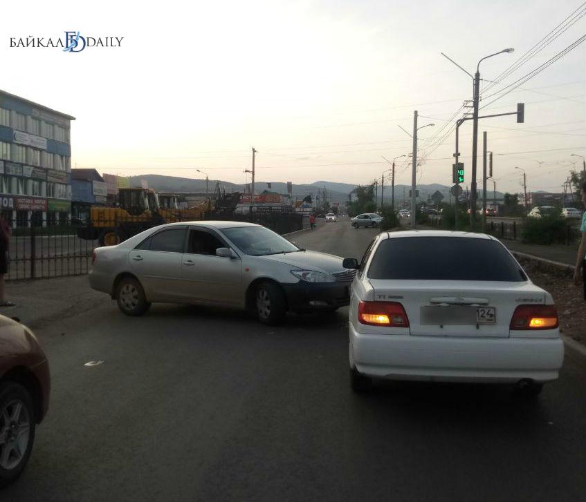 В Улан-Удэ произошло ДТП у «Автолидера»