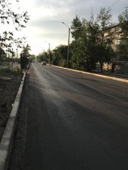 В Улан-Удэ ремонтируют дорогу к станции Дивизионной