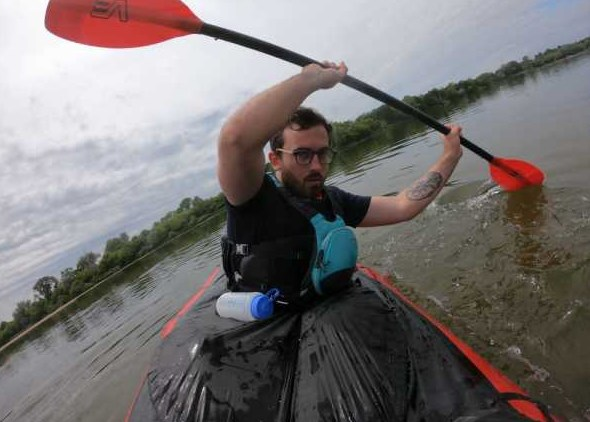Француз проплыл на каяке от Бурятии до Хакасии