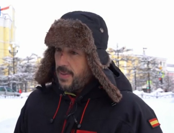 Испанец, поехавший на велосипеде до Байкала, едва не погиб в -50