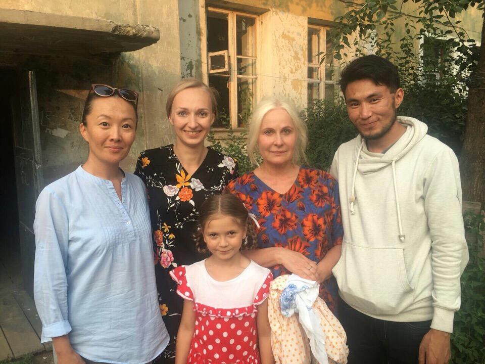 В Улан-Удэ снимают фильм с участием актрисы Марины Куделинской