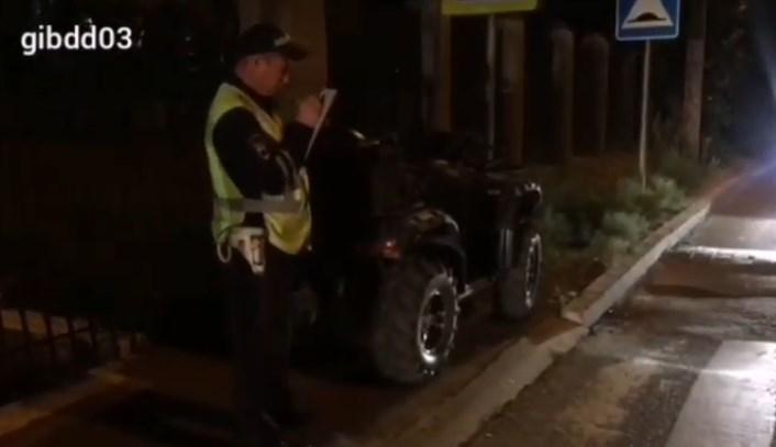 В Улан-Удэ водитель квадроцикла впал в кому после ДТП