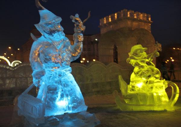 На главной площади Читы поселится Дед Мороз