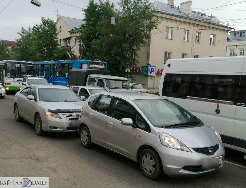 В Улан-Удэ произошло ДТП напротив «Спутника»