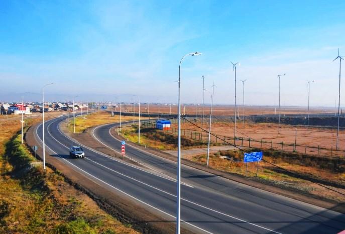 В Бурятии отремонтировали 5 км трассы «Байкал»