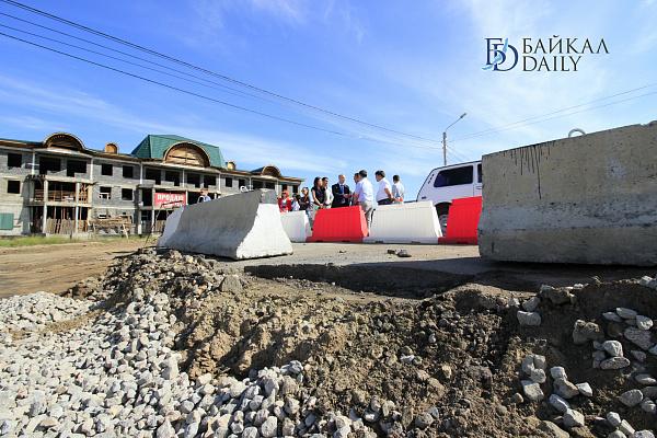 В Улан-Удэ откроют движение на отремонтированной дороге