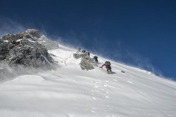 В горах на севере Бурятии лавиноопасно