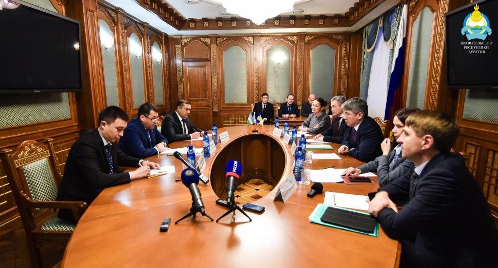 Бурятия начнёт экономическое сотрудничество с Узбекистаном