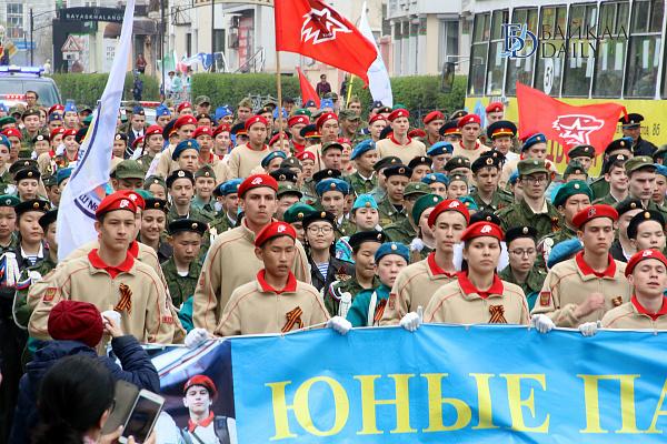 Юнармейцы Бурятии участвуют в патриотических мероприятиях